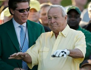 Arnold Palmer (AP Photo/Chris O'Meara)